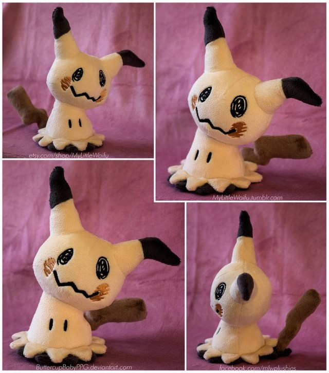 Pokemon Sewing Patterns Pokemon Mimikyu Plush Sewing Pattern For Sale Buttercupbappg