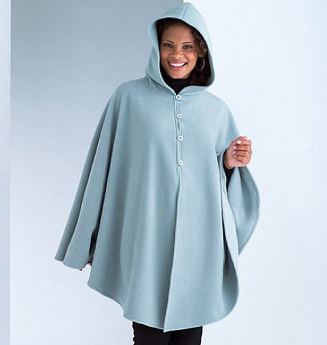 Poncho Sewing Pattern Butterick Sewing Pattern See Sew Misses Poncho Size Xsm Xlg 4266