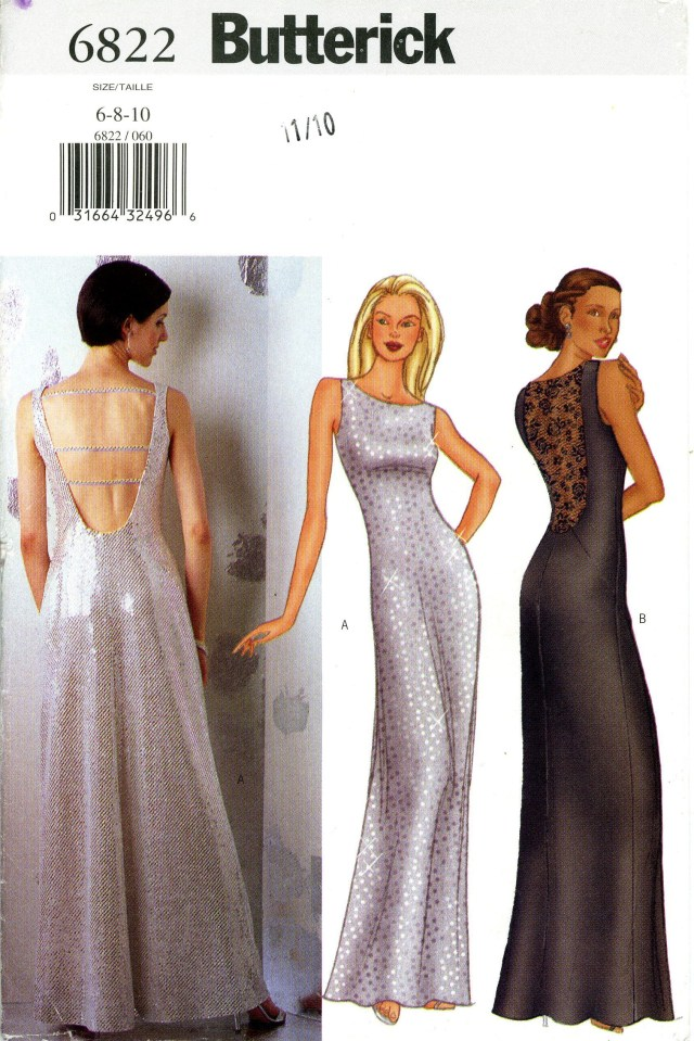 Prom Dress Sewing Patterns Butterick Prom Evening Dress Pattern Patterns 1970s Pinterest
