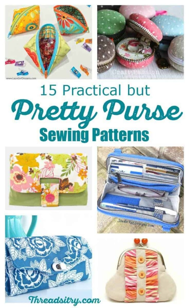 Purse Patterns To Sew 15 Practical But Pretty Purse Sewing Patterns