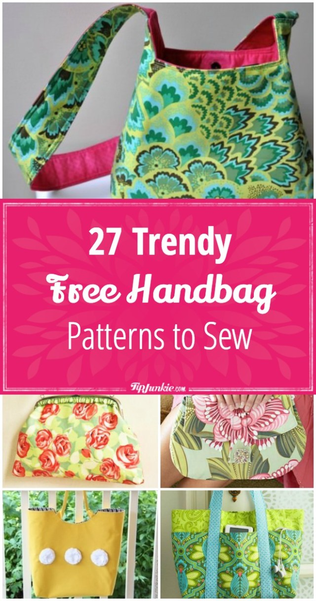 Purse Patterns To Sew 27 Trendy Free Handbag Patterns To Sew Tip Junkie