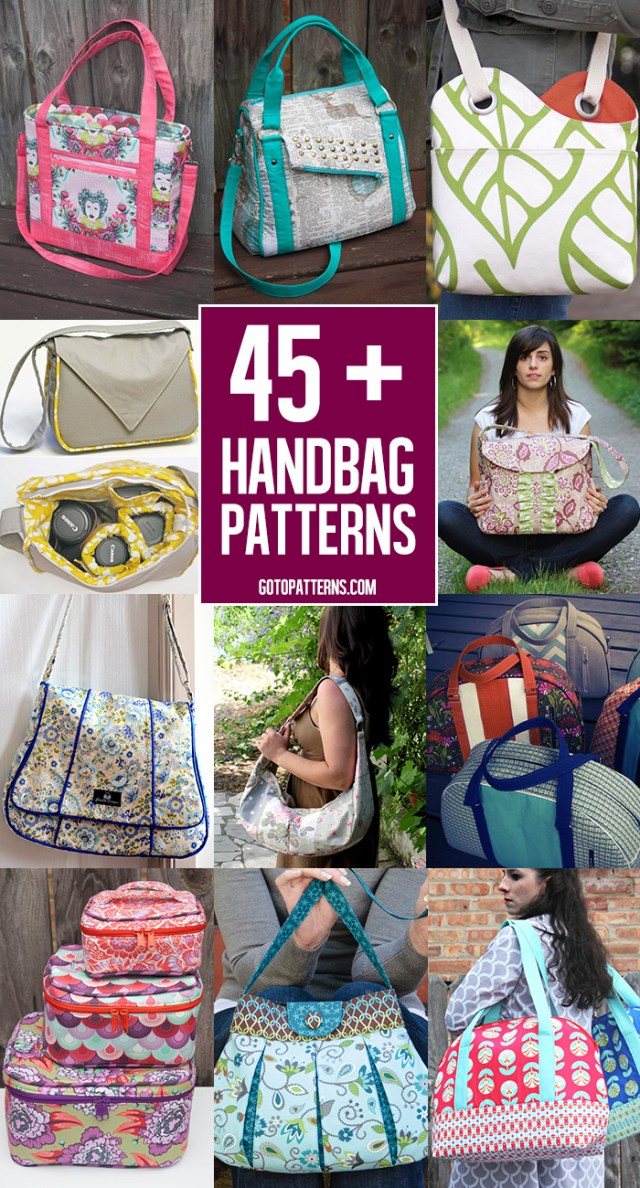 Purse Patterns To Sew 40 Free Bag Pattern Tutorials Andreas Notebook