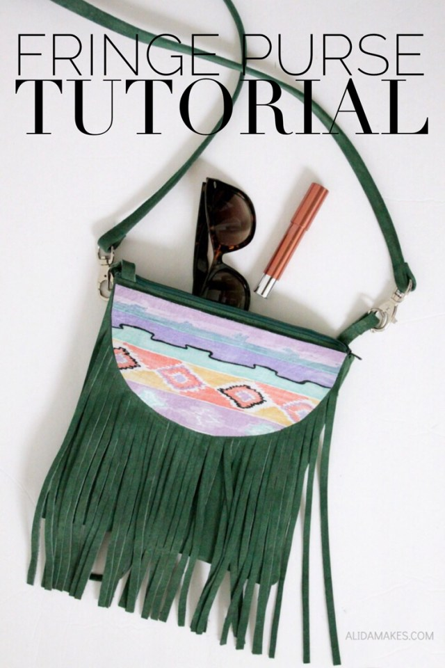 Purse Patterns To Sew Fringe Purse Tutorial The Sewing Rabbit
