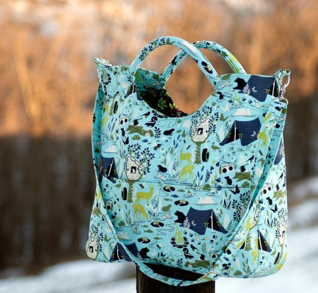 Purse Patterns To Sew The City Tote Daytripper And Everyday From Rlr Creations