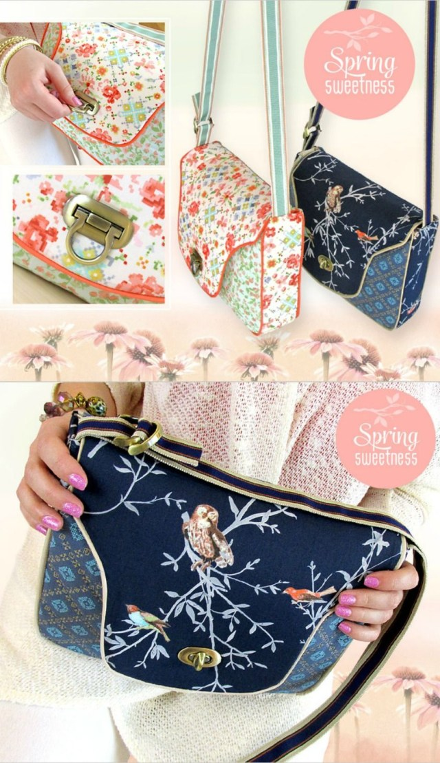 Purse Sewing Patterns Free Purse Sewing Pattern Cross Body Sewing Tutorial Bags And