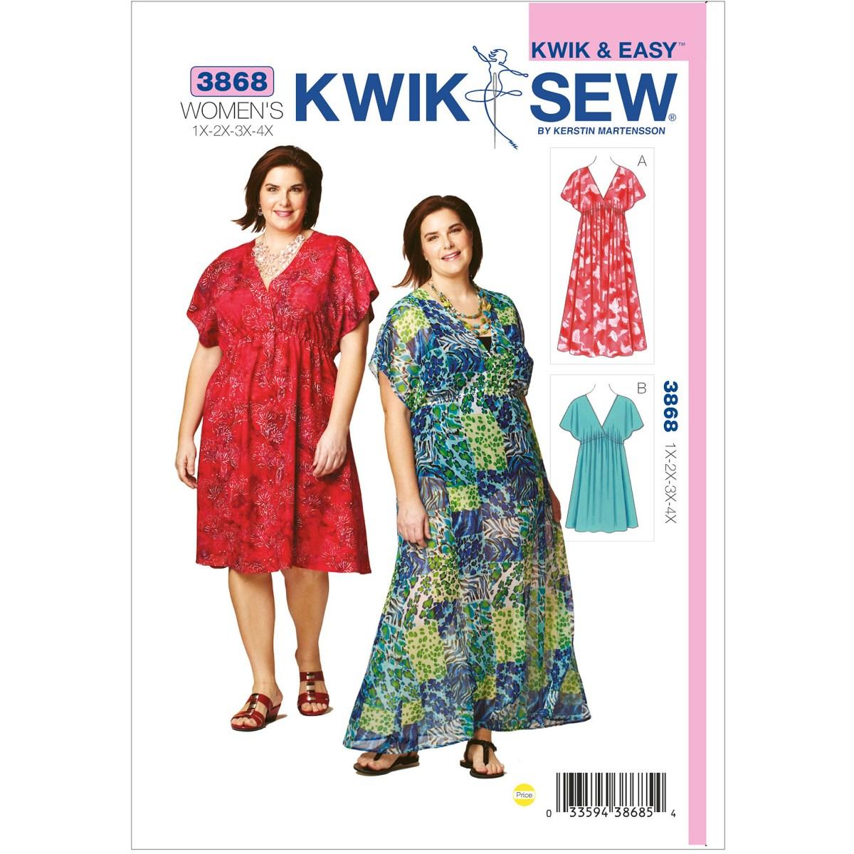 Quick Sew Patterns Kwik Sew Pattern Doll Clothes Fits 18 Dolls Walmart