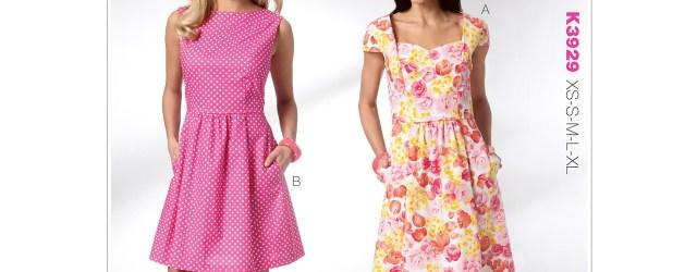 Quick Sew Patterns Kwik Sew Pattern Misses Dresses Xs S M L Xl Walmart