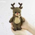 Reindeer Sewing Pattern Deer Heads Cuddle Me Reindeer Crochet Pattern Amigurumi Today