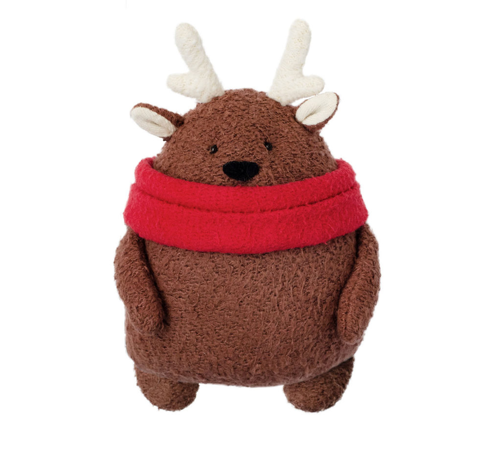 Reindeer Sewing Pattern Free Christmas Plush Sewing Pattern And Tutorial Full Size Plush
