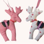 Reindeer Sewing Pattern How To Sew A Reindeer Christmas Craft Free Patterns Youtube