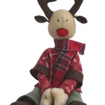 Reindeer Sewing Pattern Ruben Reindeer Soft Toy Sewing Pattern Fabric Christmas Etsy