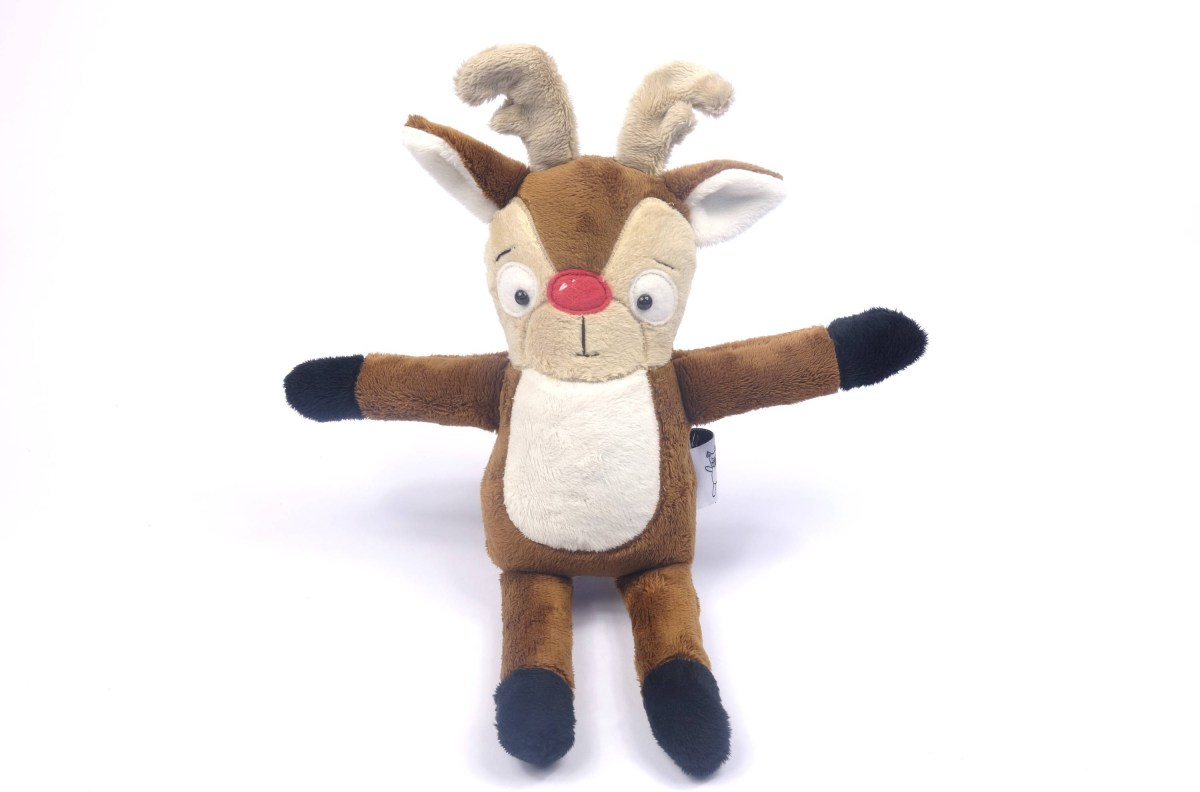Reindeer Sewing Pattern Two Size Reindeer Pdf Soft Toy Sewing Pattern Etsy