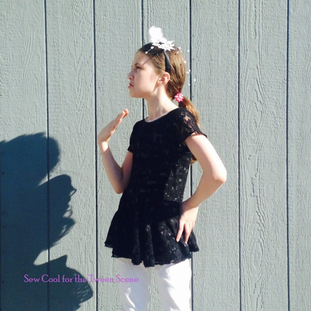 Sew Cool Patterns Pattern Review Gloria Dress And Top Sew Cool For The Tween Scene