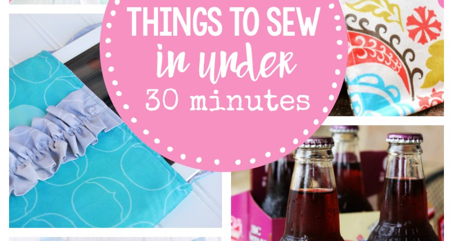 Sew Easy Patterns Easy Sewing Patterns 25 Things To Sew In Under 30 Minutes