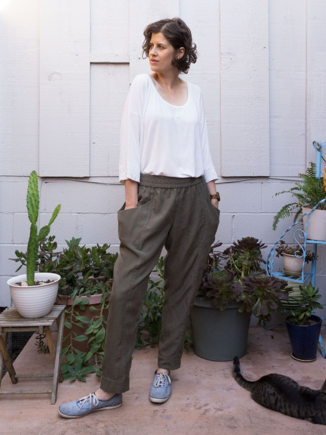 Sew Liberated Patterns Review Of The Arenite Pants Sewing Pattern Sew Liberated
