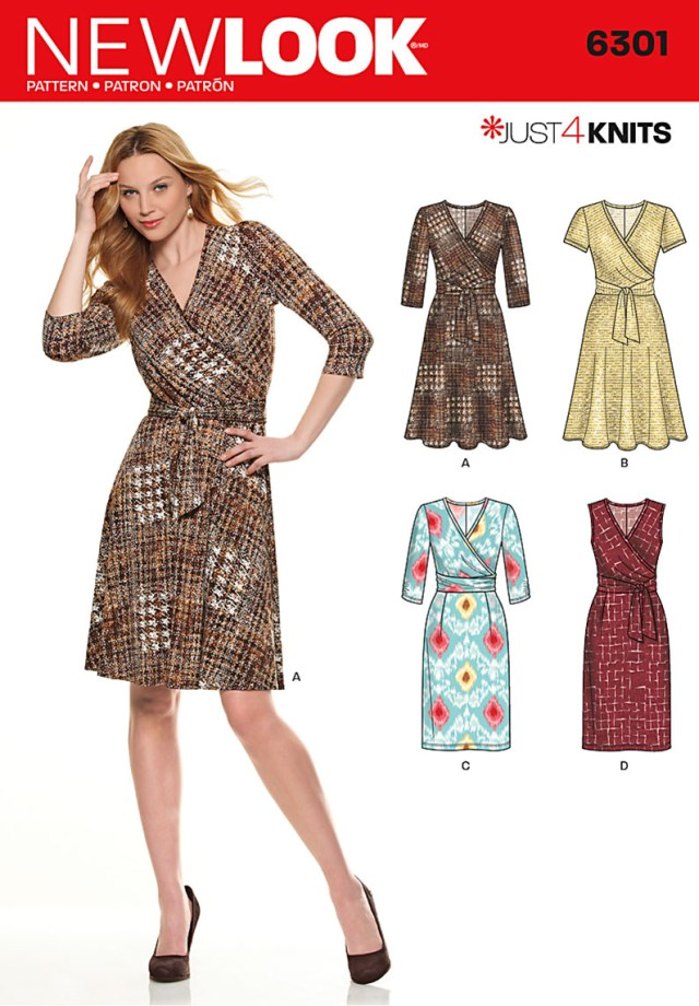 Sewing Dress Patterns New Look 6301 Sewing Pattern