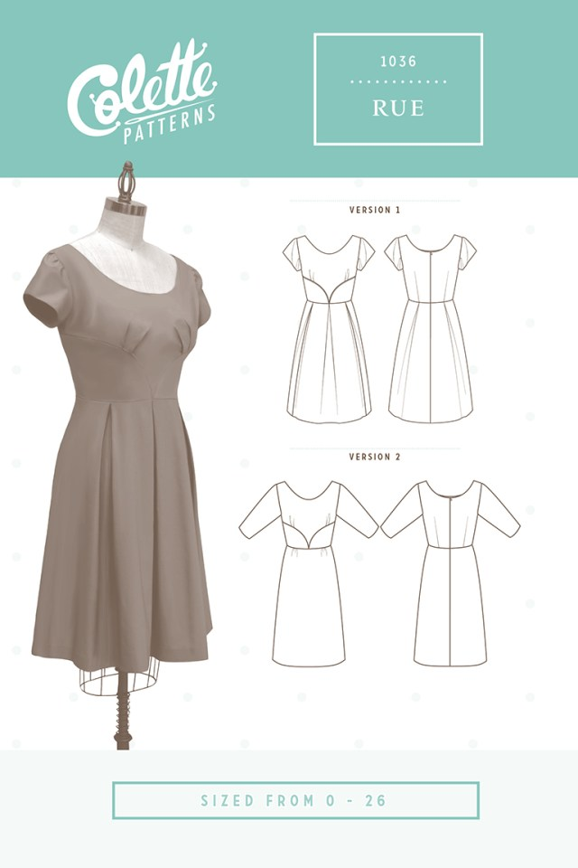 Sewing Dress Patterns Rue Colette Patterns