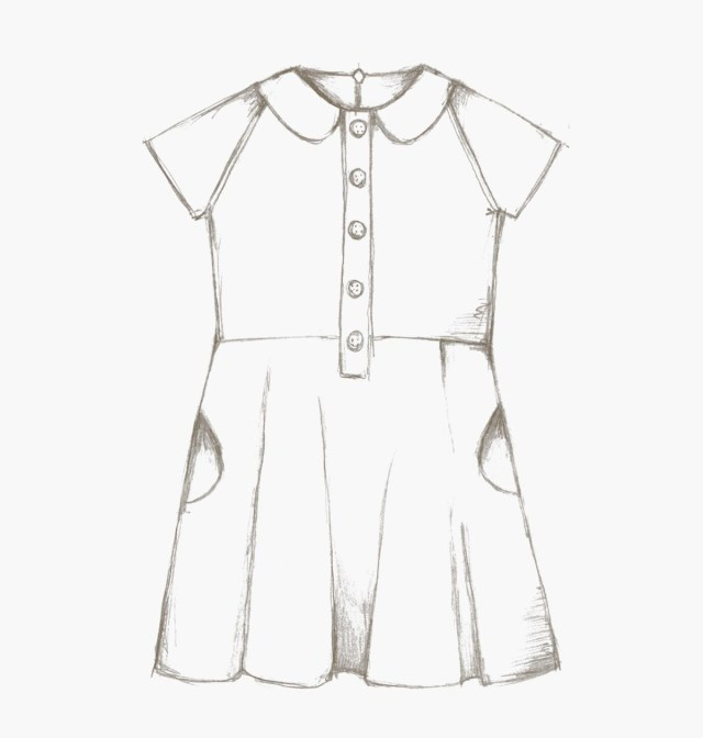 Sewing Dress Patterns The Ileana Dress Children Pdf Sewing Pattern Compagnie M