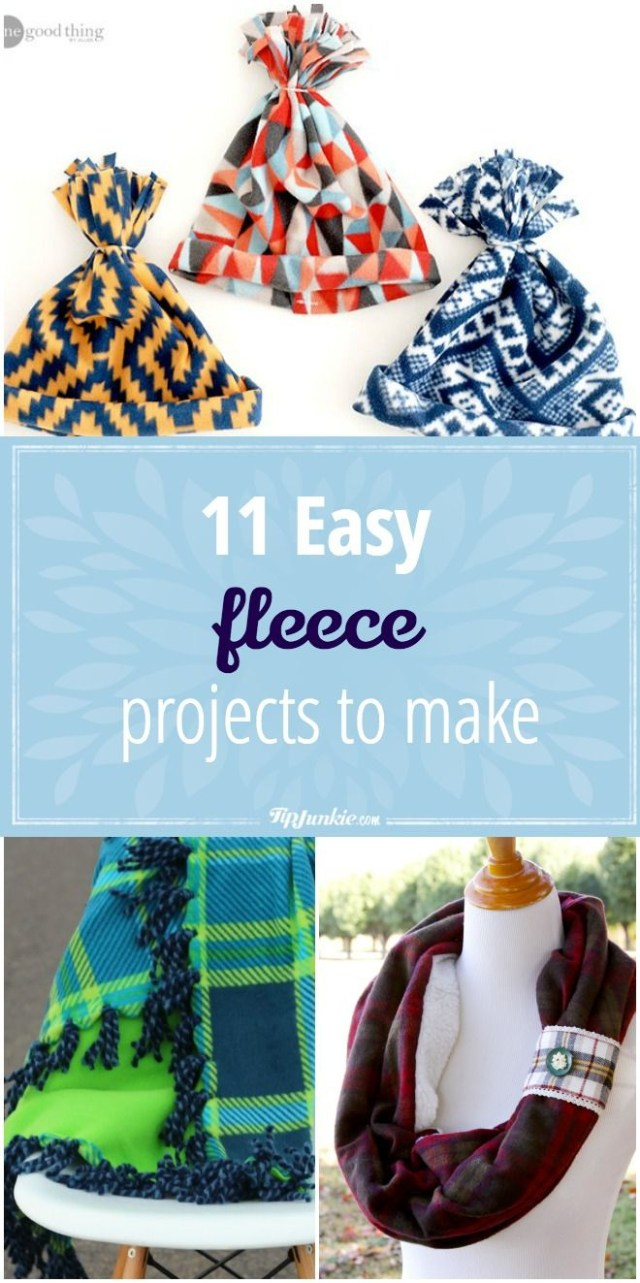 Sewing Fleece Projects 11 Easy Fleece Projects To Make Inspiration Sewing Projects