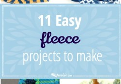 Sewing Fleece Projects Easy Diy 11 Easy Fleece Projects To Make Inspiration Sewing Projects