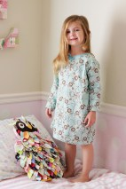 Sewing Pattern For Girl Sadie Grace Nightgown Pdf Sewing Pattern For Girls Instant Etsy