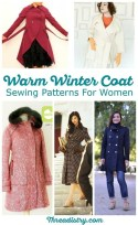 Sewing Pattern Womens Coat Brave The Cold With Wonderful Womens Winter Coat Sewing Patterns