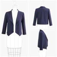 Sewing Pattern Womens Coat Grainline Studio Morris Blazer Paper Pattern