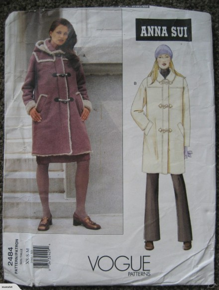 Sewing Pattern Womens Coat New Vogue Sewing Pattern Womens Coat Jacket Hood Xs M 6 14 Trade Me