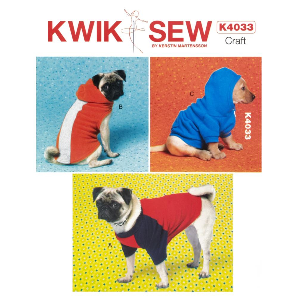 Sewing Patterns For Dogs Kwik Sew Dog Coat Pattern Discount Designer Fabric Fabric