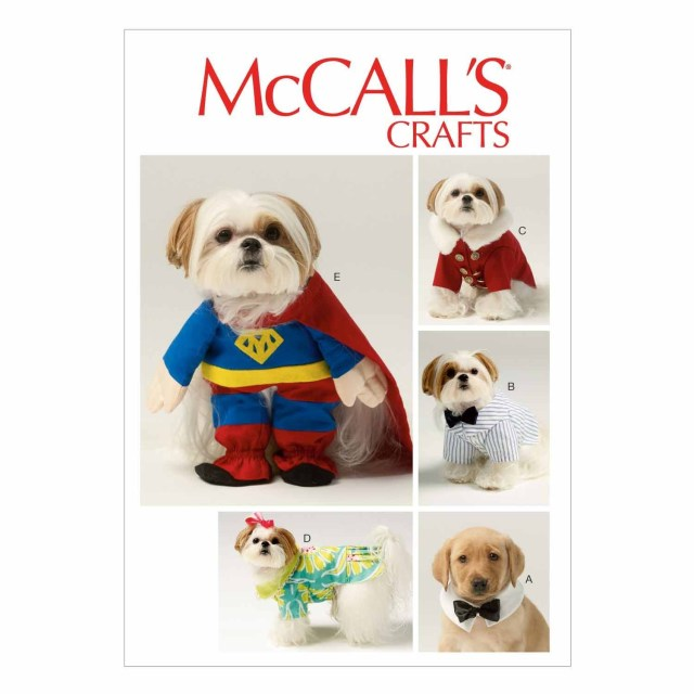 Sewing Patterns For Dogs Mccalls Sewing Pattern Pet Clothes One Size Knittingsewing