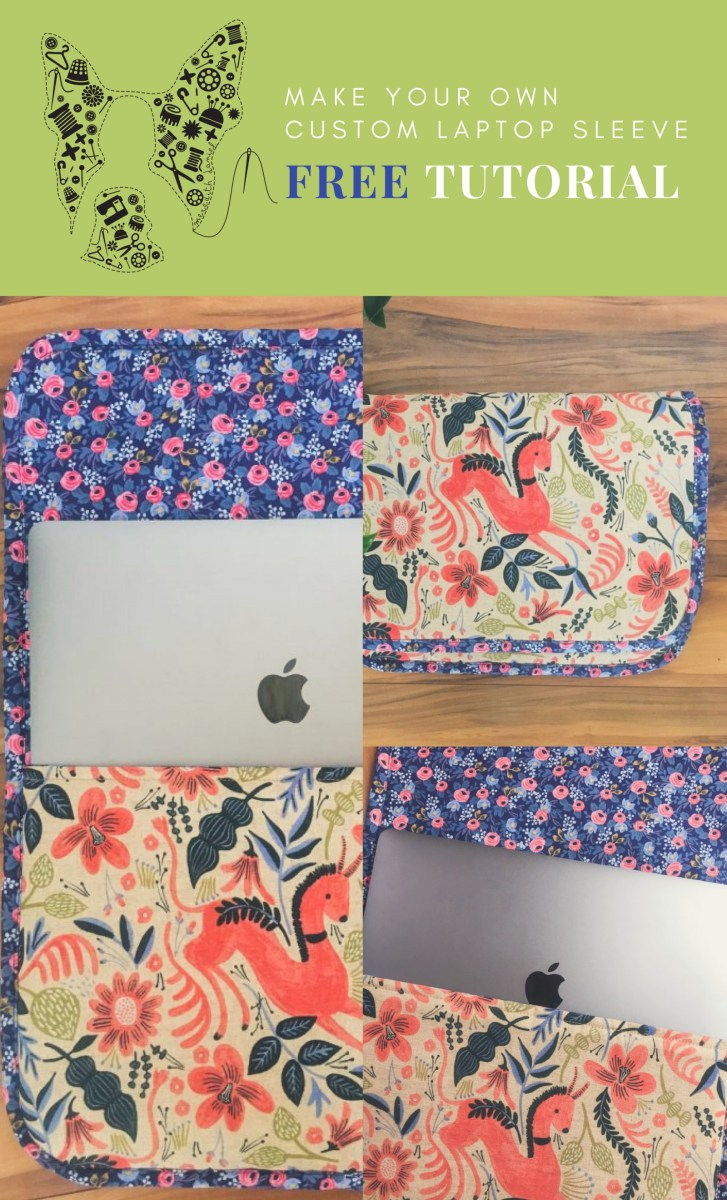 Sewing Patterns Free Projects Crafts Diy Free Diy Custom Laptop Sleeve Tutorial Sewingyarn Pinterest