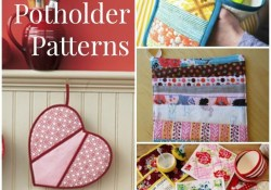 Sewing Patterns Free Projects Crafts How To Make Potholders 25 Hot Pad Patterns Sewing For The