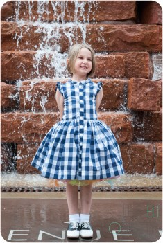 Sewing Patterns Girls Picknick Summer Dress Sewing Pattern For Girls Sized 12m To 12y