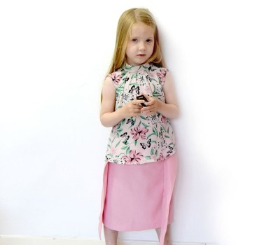 Sewing Patterns Girls The Paige A Girls Pencil Skirt Sewing Pattern Rebecca Page