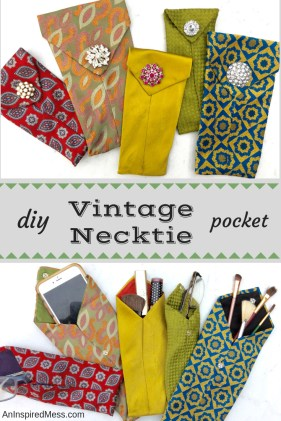Sewing Projects Upcycled Diy Necktie Project A Quick And Easy Upcycle Craft