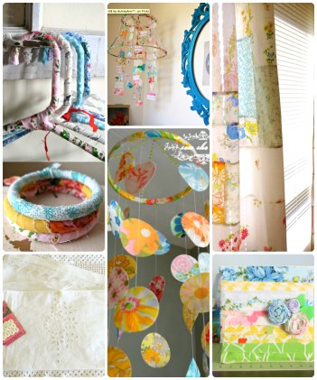 Sewing Projects Upcycled Repurpose Vintage Linens The Refab Diaries