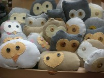 Sewing Projects Upcycled Warrior Girl Rowena Murillo Diy Harry Potter Stuffed Owlets From