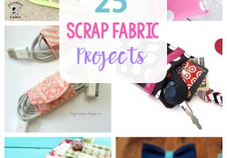 Sewing Projects With Scraps 25 More Scrap Fabric Projects Crazy Little Projects