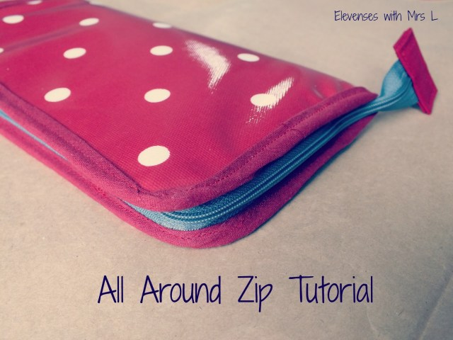 Sewing Wallet Pattern Free Elevenses With Mrs L All Around Zip Tutorial