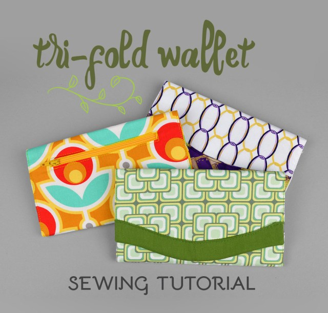 Sewing Wallet Pattern Free Sewing Tutorial Tri Fold Wallet Sewdesune On Deviantart