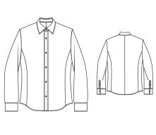 Shirt Sewing Pattern Made To Measure Slim Euro Fit Mens Shirt Bootstrapfashion Patterns