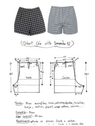 Shorts Sewing Pattern Ort Dikimi Clothing Jewelry Pinterest Sewing Sewing Pants