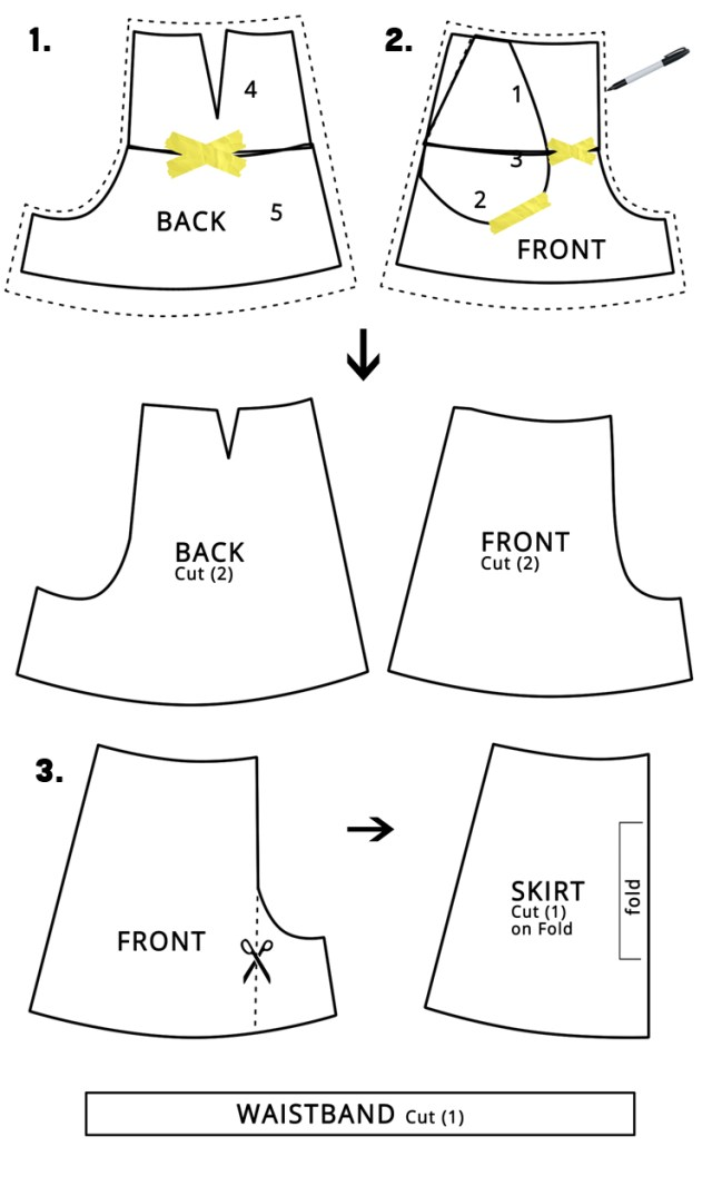 Shorts Sewing Pattern Womens Skort Diy The Sewing Rabbit