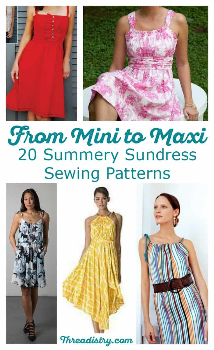 Simple Sewing Patterns 20 Summery Sundress Sewing Patterns