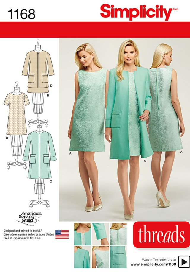 Simplicity Sewing Patterns Simplicity Pattern 1168 Giveaway Threads