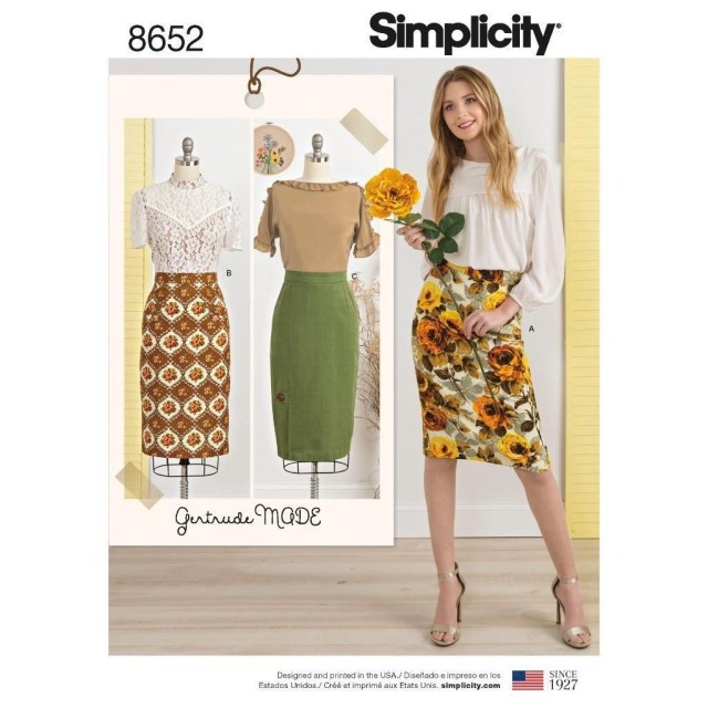 Simplicity Sewing Patterns Simplicity Sewing Pattern Women S Skirts Size 6 22 8652