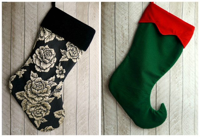 Stocking Sewing Pattern Yuletide Stocking Sewing Pattern For Christmas Stocking