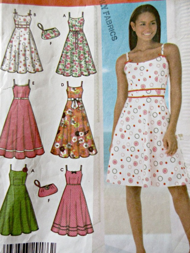 Sundress Sewing Patterns Simplicity 4531 Sewing Pattern Sundress Pattern 2005 Dress Pattern