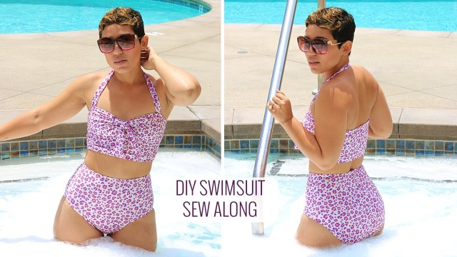 Swimsuit Sewing Patterns Diy Swimsuit Tutorial Sew Along Youtube
