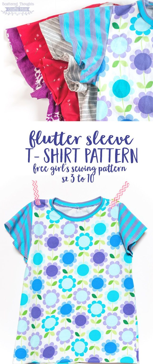 T Shirt Sewing Pattern 23 Free Multi Sized Pdf Sewing Patterns That Are Perfect For Back To